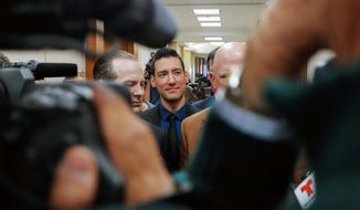 Pro-life investigator David Daleiden said a judge's ban and fine for the release of undercover National Abortion Federation videos was an attack on his rights. (Associated Press)