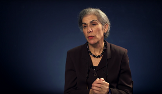 Amy Wax (Screen shot of video by American Enterprise Institute)