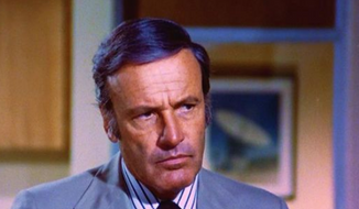 Screen shot of Richard Anderson. (Image: ABC Television via the Detroit News)