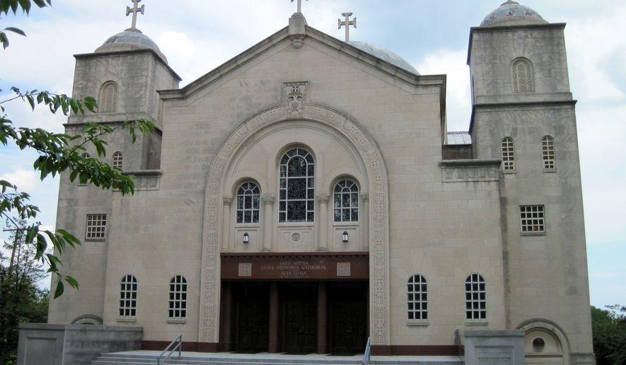 St. Sophia Greek Orthodox Cathedral in Washington, D.C. (By Photo by Jonathunder - via commons.wikimedia.org.)