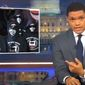 "Comedian Trevor Noah told a studio audience during ""The Daily Show"" on Comedy Central that antifa protesters are the equivalent of ""vegan ISIS."" (Image: Comedy Central, ""The Daily Show"" screenshot)"