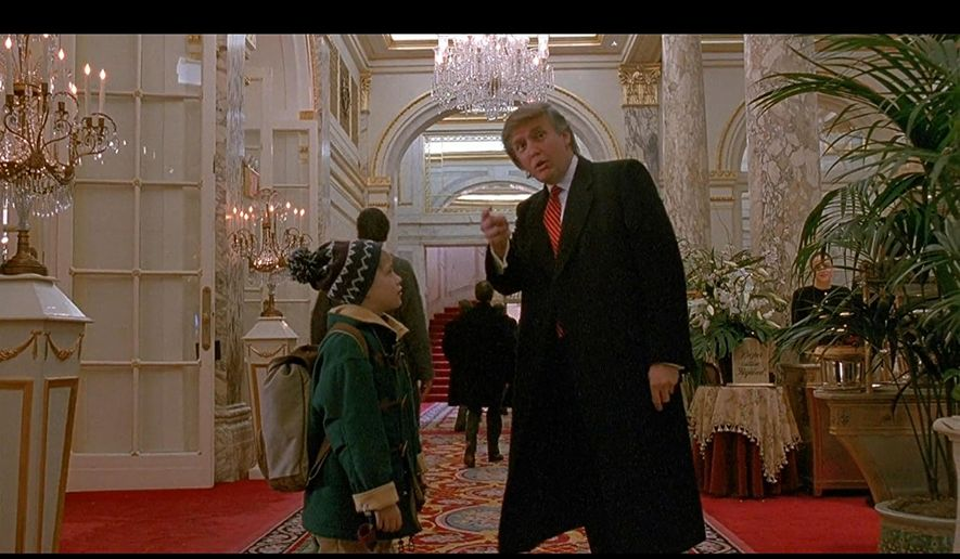 Macaulay Culkin and Donald J. Trump in Home Alone 2: Lost ...