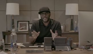 Actor and filmmaker Tyler Perry has pledged to donate $1 million to the Hurricane Harvey relief effort, with $250,000 of that going to Joel Osteen's Lakewood Church, which has served as a major distribution center of supplies for Texas flood victims. (Facebook/@Tyler Perry)