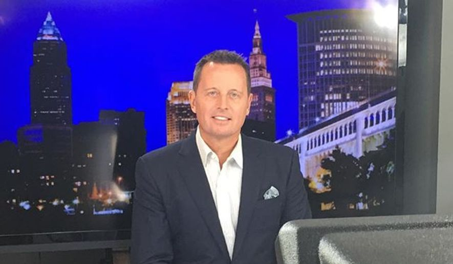 Richard Grenell in a photo via his eponymous website. [https://scontent.cdninstagram.com/t51.2885-15/s640x640/sh0.08/e35/13402400_296034127397229_1540015513_n.jpg]
