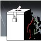 Illustration on revealing the Democrat voter fraud effort by Alexander Hunter/The Washington Times