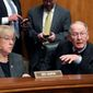 """Senate Health Committee chairman Sen. Lamar Alexander is urging his GOP colleagues to bless short-term fixes to Obamacare for consumers and insurers who've been left in a type of """"no man's land"""" ahead of this fall's sign-up period. Mr. Alexander launched the effort with Democratic Sen. Patty Murray. (Associated Press)"""