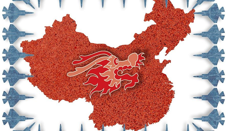 The Strategy to Deter Chinese Agression Illustration by Greg Groesch/The Washington Times