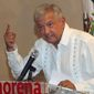 """""""We need to establish a relationship of respect, expressing desires for cooperation and setting aside propaganda,"""" said Andres Manuel Lopez Obrador, the Mexican presidential front-runner who casts himself as the ultimate political outsider. (Associated Press/File)"""