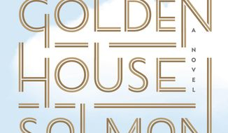 "This cover image released by Random House shows ""The Golden House,"" by Salman Rushdie. (Random House via AP)"