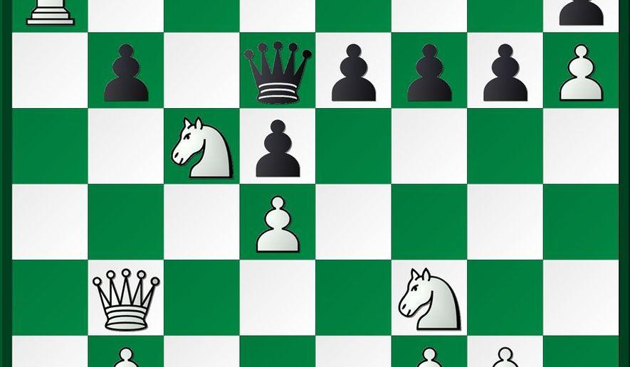 Gareyev-Erenburg after 25...Qxd6.