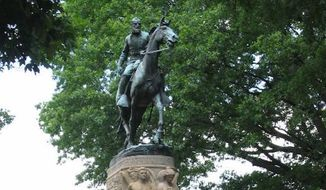 "The Charlottesville City Council in Virginia voted unanimously Tuesday night to remove a statue of Confederate Gen. Thomas ""Stonewall"" Jackson from a public park. (charlottesville.org)"