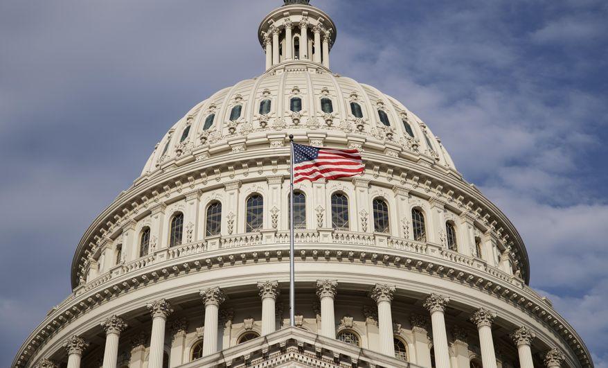 The U.S. Capitol is seen in Washington, Tuesday, Sept. 5, 2017. (AP Photo/J. Scott Applewhite) ** FILE **