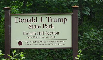 """A Democratic lawmaker wants to rename Donald J. Trump State Park in New York to instead honor the woman killed during the """"Unite the Right"""" rally last month in Charlottesville, Virginia. (Wikipedia)"""
