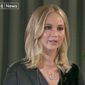 """American actress Jennifer Lawrence told British media on Wednesday that she's sickened by some of the events going on her own country, suggesting that the """"polarizing"""" political climate has been exacerbated by Donald Trump's presidency. (Channel 4)"""