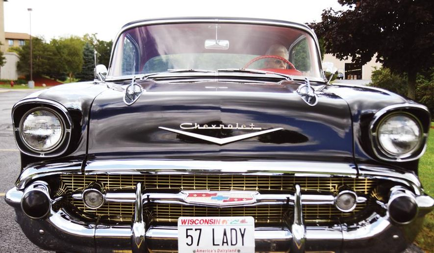 1957 chevy bel air still shines like it did 60 years ago