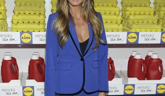 Model/businesswoman Heidi Klum attends the Esmara by Heidi Klum Lidl Fashion Presentation held at Art Beam on Thursday, Sept. 7, 2017 in New York. (Photo by Brent N. Clarke/Invision/AP)