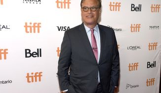 "Director Aaron Sorkin attends a premiere for ""Molly's Game"" on day 2 of the Toronto International Film Festival at the Elgin Theatre on Friday, Sept. 8, 2017, in Toronto. (Photo by Chris Pizzello/Invision/AP)"