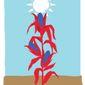 Illustration on Taiwanese prosperity by Linas Garsys/The Washington Times