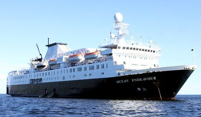 The Ocean Adventure cruise ship (Photograph by Jacquie Kubin / Special to the Washington Times)