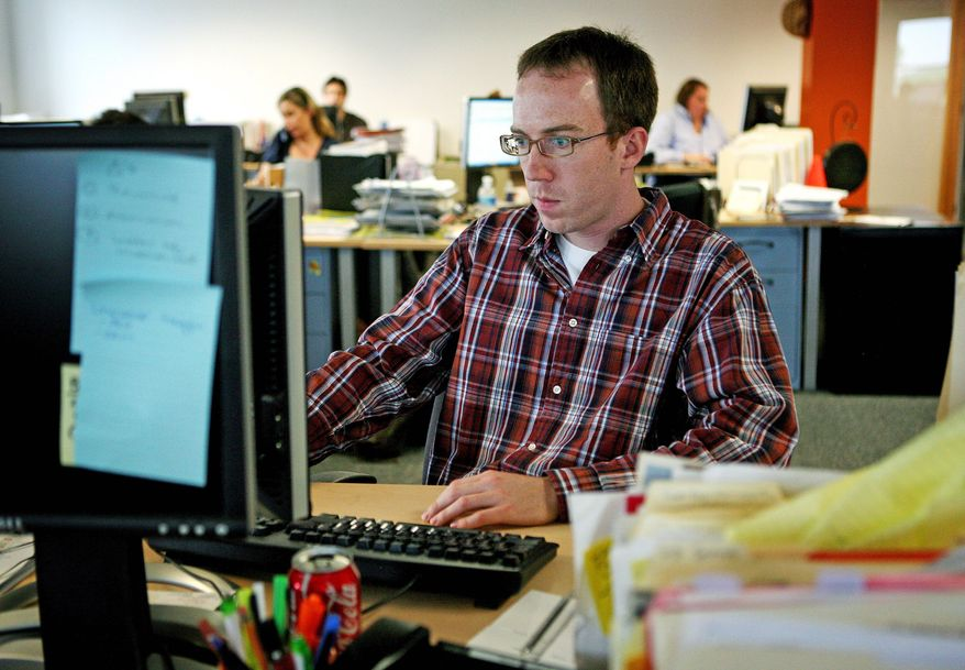 It's not just the total number of hours of sitting accumulated over the day, but uninterrupted sitting over long periods such as 60 to 90 minutes increase the risk for early death, researchers said. (Associated Press/File)