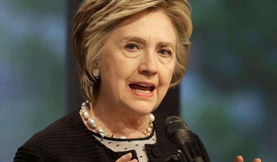 Hillary Clinton. (Associated Press) ** FILE **