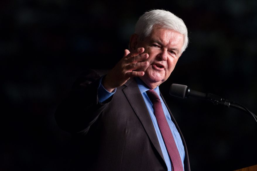 Former Speaker of the House Newt Gingrich (Associated Press) **FILE**