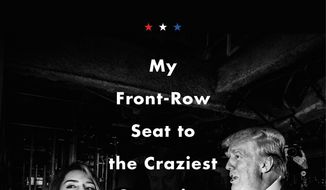"CORRECTS IMPRINT TO DEY STREET - This cover image released by Dey Street shows ""Unbelievable: My Front Row Seat to the Craziest Campaign in American History,"" by Katy Tur. (Dey Street via AP)"