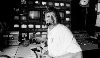 "FILE - This April 14, 1978, file photo shows TV producer Don Ohlmeyer at a mobile TV control center during a golf tournament in Rancho Mirage, Calif. Ohlmeyer, the ""Monday Night Football"" producer who came up with the phrase ""Must See TV"" in leading NBC to the No. 1 prime-time spot, died Sunday, Sept. 10, 2017. He was 72. (AP Photo, File)"