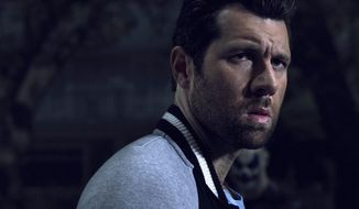 """This image released by FX shows Billy Eichner as Harrison Wilton in """"American Horrow Story: Cult. (Frank Ockenfels/FX via AP)"""