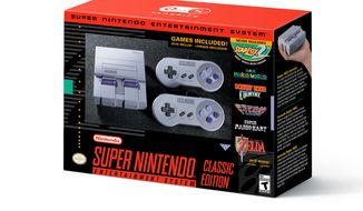 SNES Classic box, image via Nintendo (Nintendo)