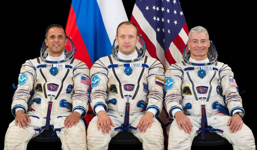 Two American astronauts Mark Vande Hei and Joseph Acaba, together with Russian cosmonaut Alexander Misurkin, were launched on a mission to the International Space Station using Soyuz MS-06 spacecraft.