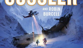 """This cover image released by Putnam shows """"The Romanov Ransom,"""" by Clive Cussler and Robin Burcell. (Putnam via AP)"""