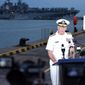 Adm. Scott Swift, commander of the Pacific Fleet, is being considering for the post of commander of the entire Hawaii-based Pacific Command. Adm Swift, a Navy pilot, would replace Adm. Harry Harris. (U.S. Navy)