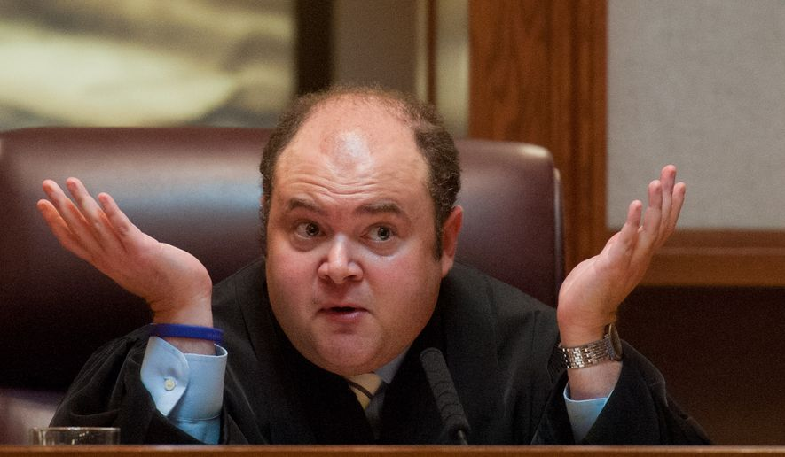 The administration stands behind Minnesota Supreme Court Justice David Stras and remains fully committed to his nomination to the 8th Circuit. (Associated Press)
