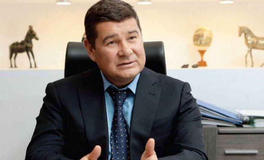 Exiled Ukraine politician Oleksandr Onyshchenko