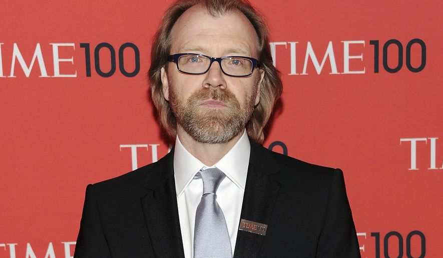 "FILE - In this April 23, 2013 file photo, writer George Saunders attends the TIME 100 Gala celebrating the ""100 Most Influential People in the World"" in New York. American author George Saunders is favored to win the prestigious Man Booker Prize for fiction with his novel of the afterlife, ""Lincoln in the Bardo."" Bookmakers Ladbrokes and William Hill made Saunders the front-runner among six titles vying for the 50,000 pound ($66,000) prize. The winner will be announced Oct. 17, 2017. (Photo by Evan Agostini/Invision/AP, File)"