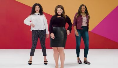 """Kmart is rebranding its plus-sized women's clothing as """"fabulously sized"""" after hearing feedback from customers. (Kmart)"""