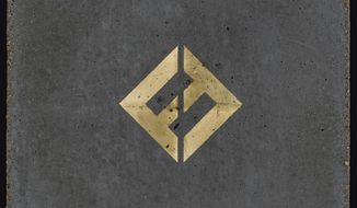 "This image released by Roswell Records/RCA shows ""Concrete and Gold,"" the latest release by the Foo Fighters. (Roswell Records/RCA via AP)"