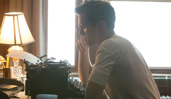 "Nicholas Hoult portrays J.D. Salinger in a scene from ""Rebel in the Rye.""  (Fandango)"