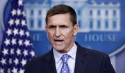 In this Feb. 1, 2017, file photo, then-National Security Adviser Michael Flynn speaks during the daily news briefing at the White House, in Washington. (AP Photo/Carolyn Kaster, File)