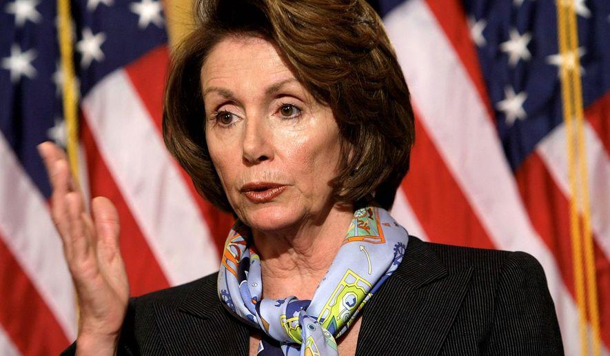 Rep. Nancy Pelosi. (Associated Press) ** FILE **