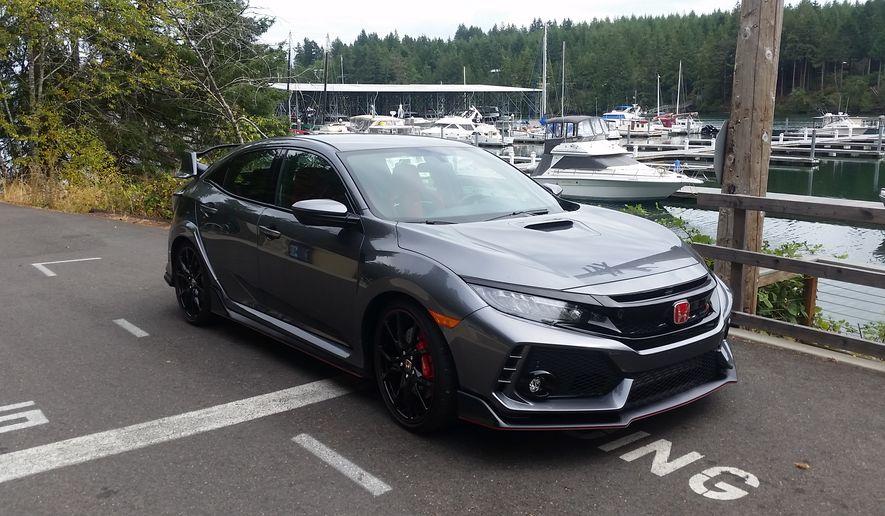 2018 Honda Civic Mid Size Features Race Car Ready Luxury   Washington Times