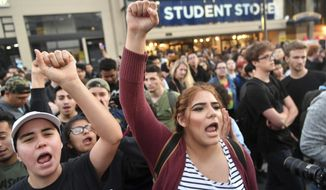 While covering First Amendment protests on.campuses, The College Fix and its staffers pursue a goal to strengthen and preserve a sense of balance and objectivity that once stood as a golden rule for journalism. (Associated Press/File)