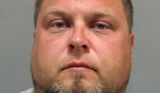 This booking photo released by the Montgomery County Department of Police shows Tyler Tessier, who was arrested Wednesday Sept. 13, 2017,  in Montgomery County, Md., on murder chargers. Tessier is charged with the slaying of his girlfriend, a pregnant Maryland teacher who was missing for more than a week and was found dead in a shallow grave.  (Montgomery County Department via AP)
