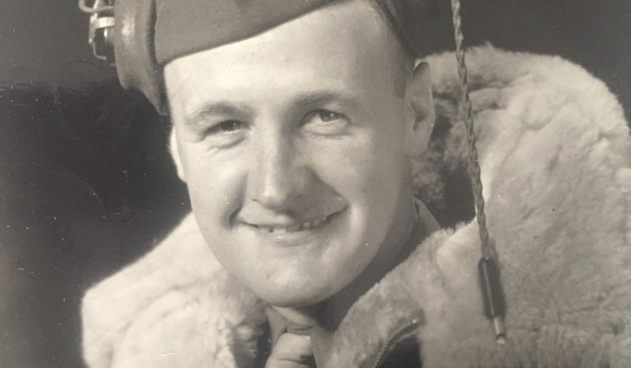 """This undated family photo show 2nd Lt. Donald Underwood. The U.S. government has identified the remains of the World War II airman from Detroit who died in a plane crash in the Pacific Ocean in 1944.  The bomber known as the """"Miss Bee Haven"""" crashed shortly after takeoff from the Gilbert Islands. That area now is the country of Kiribati. (Family Photo Courtesy of Joni Mehall via AP)"""