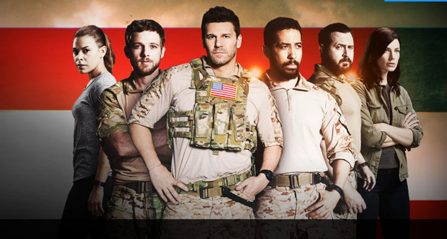 Screen capture from the CBS website for Seal Team, a military drama premiering on Sept. 27. (CBS/Seal Team)