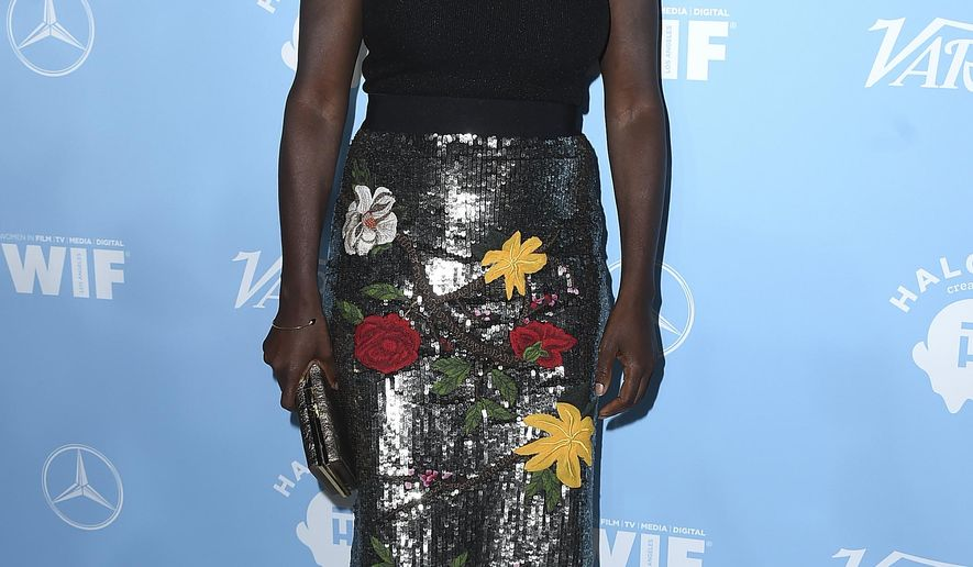 Viola Davis arrives at the 69th Primetime Emmy Awards Variety and Women in Film pre-Emmy celebration on Friday, Sept. 15, 2017 in Los Angeles. (Photo by Jordan Strauss/Invision/AP)