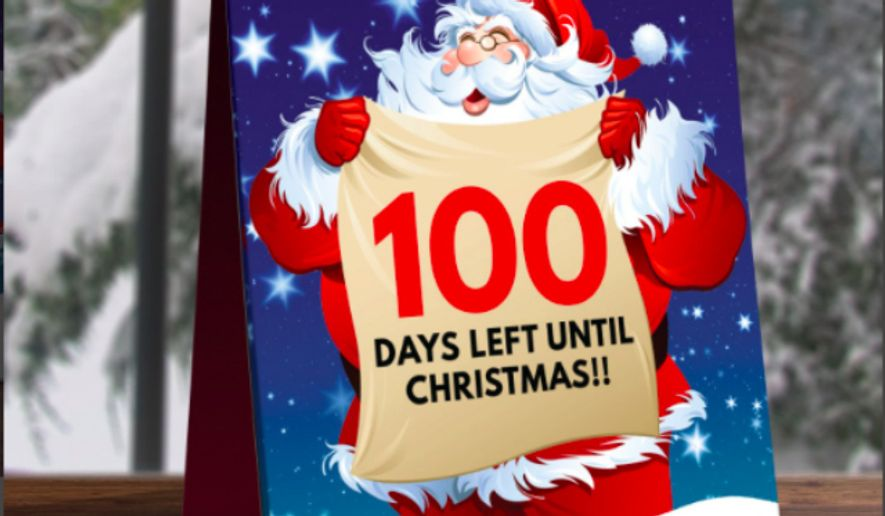 Screen capture from the Christmas countdown Facebook page. (Facebook)