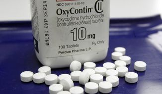 A study says opioids can be prescribed safely for five days to as long as two weeks for certain medical procedures. (Associated Press/File)