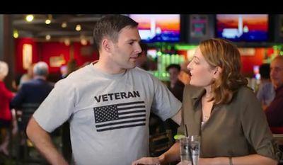 Screen grab of Democratic House candidate Dan Helmer's new video.